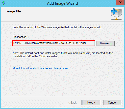add image path