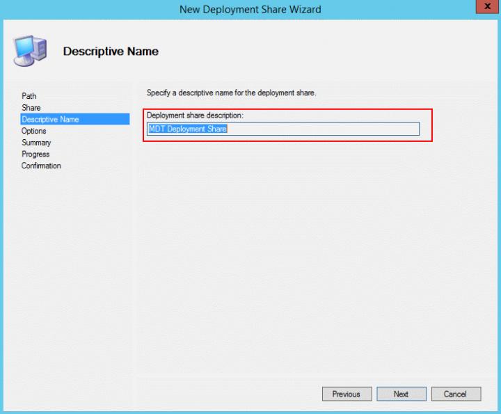 mdtp deployment share desc